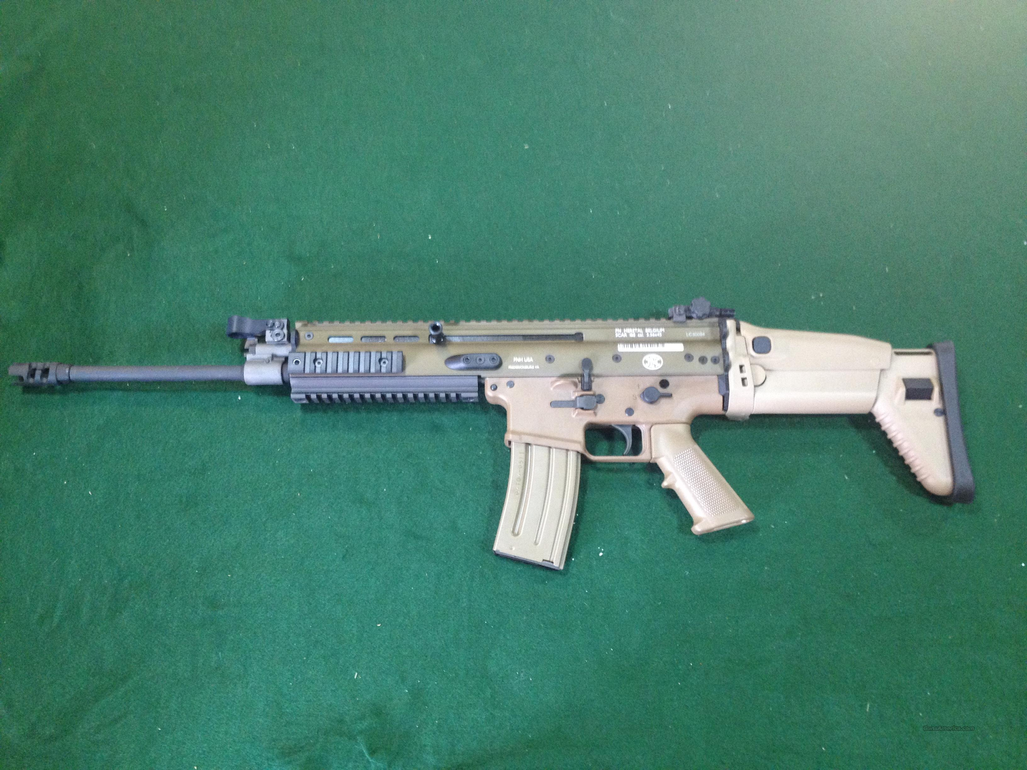 FNH SCAR 16S 5.56 Flat Dark Earth  Guns > Rifles > FNH - Fabrique Nationale (FN) Rifles > Semi-auto > Other