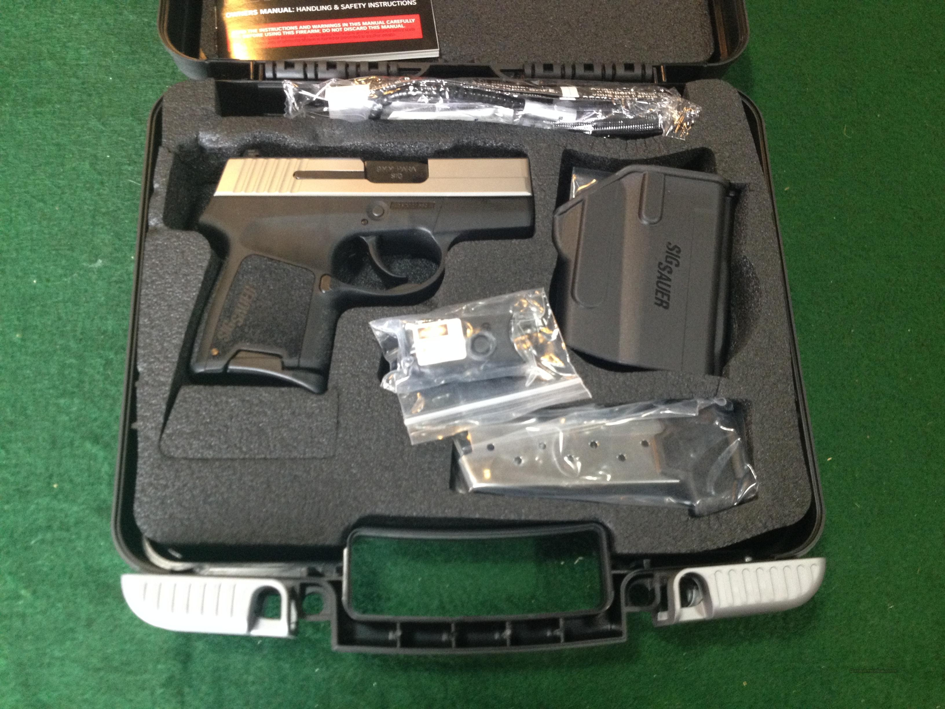 Sig Sauer P290RS Two-Tone 9mm with Laser  Guns > Pistols > Sig - Sauer/Sigarms Pistols > P290