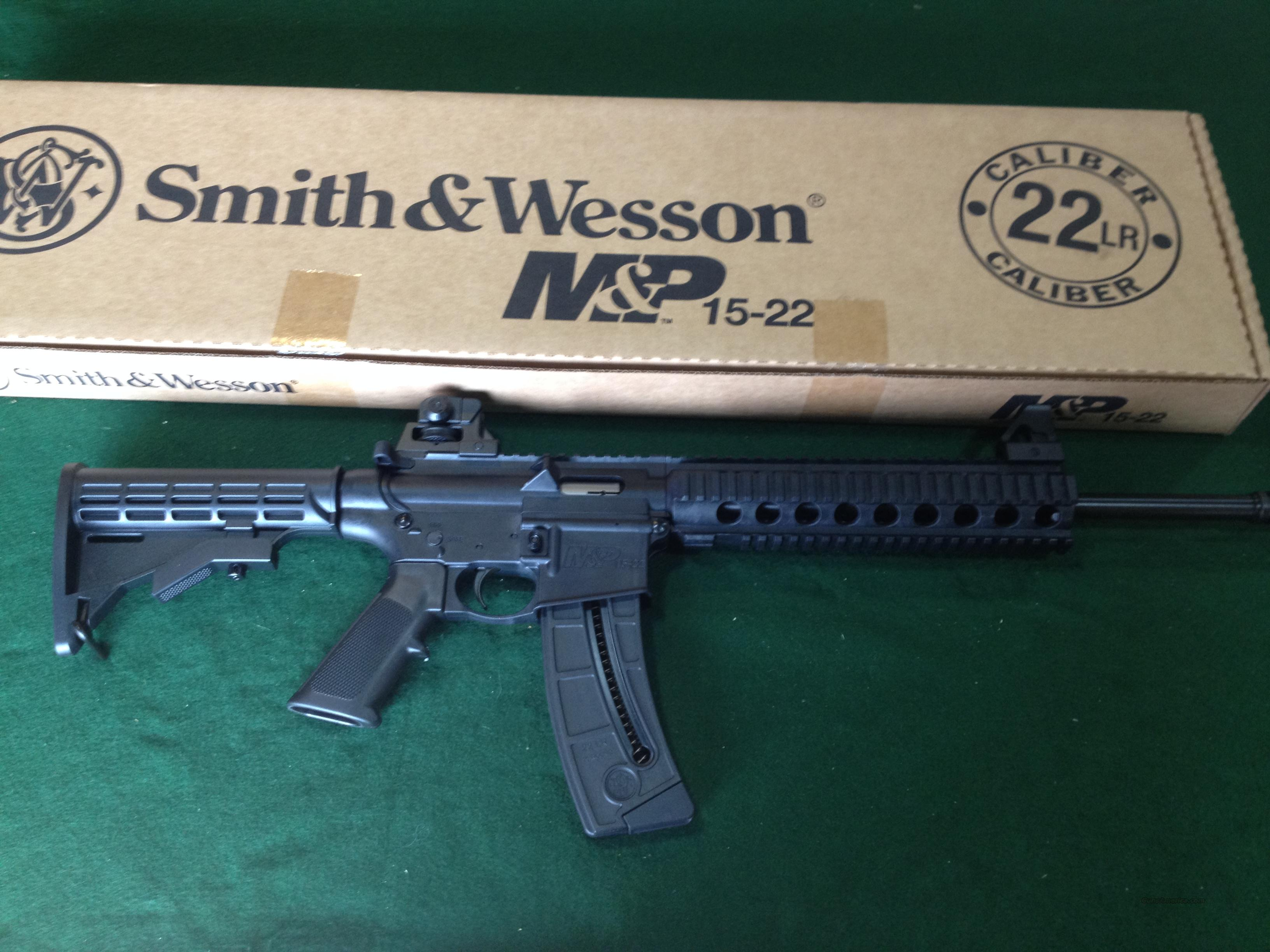 Smith & Wesson M&P15-22 22LR  Guns > Rifles > Smith & Wesson Rifles > M&P