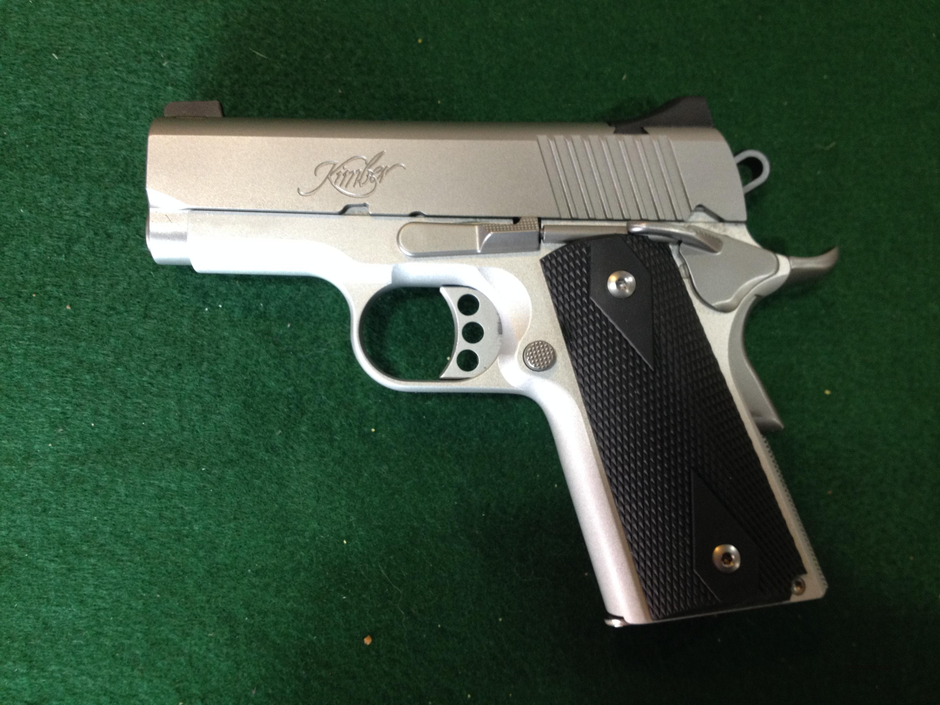 Kimber Stainless Ultra Carry II 45ACP  Guns > Pistols > Kimber of America Pistols