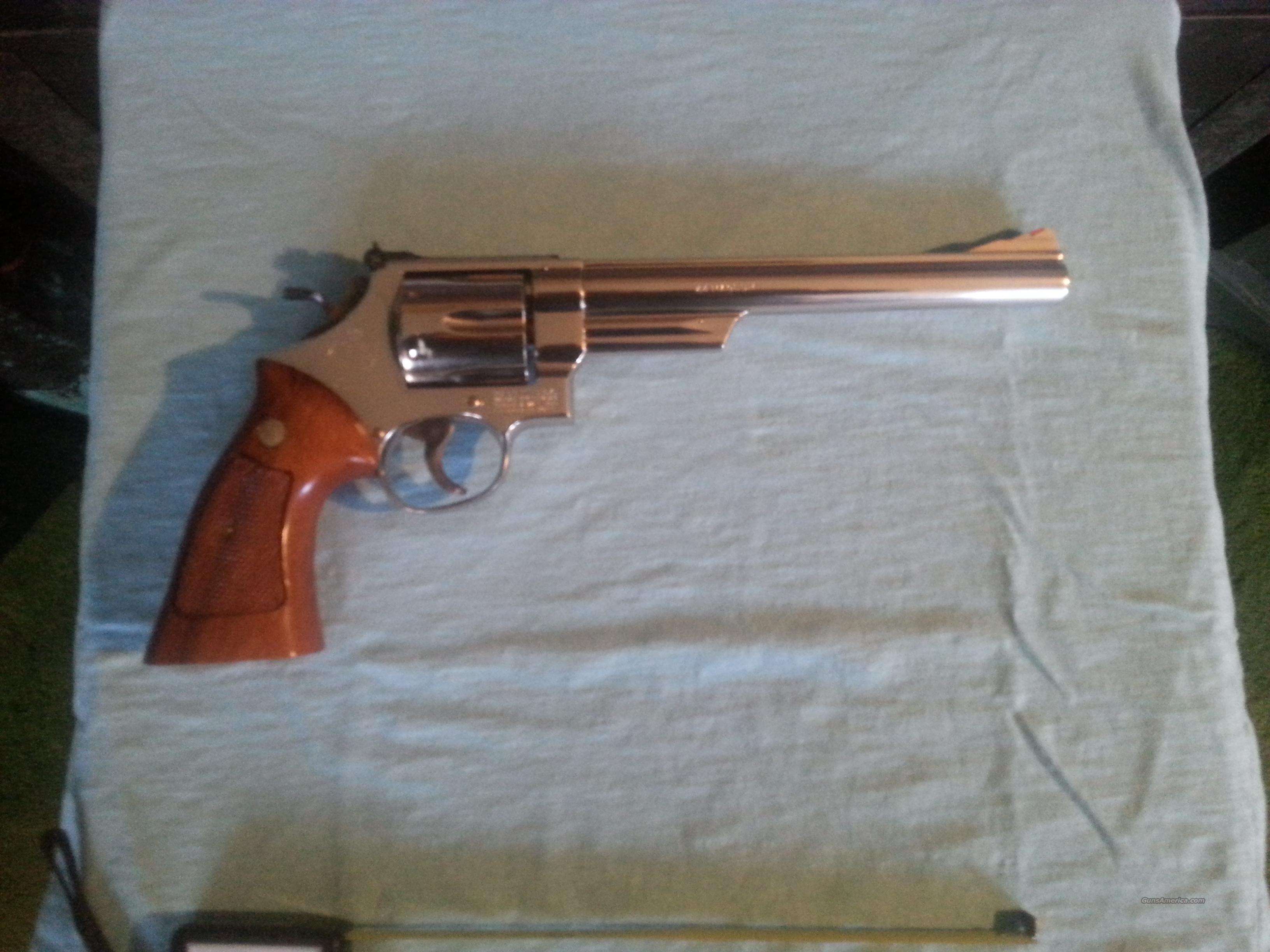 model 29-2 Nickel * 3/8 inch barrel.  Guns > Pistols > Smith & Wesson Revolvers > Full Frame Revolver