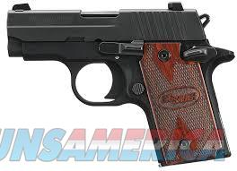NEW SIG SAUER P-238 WITH ROSEWOOD GRIPS  Guns > Pistols > Sig - Sauer/Sigarms Pistols > P238