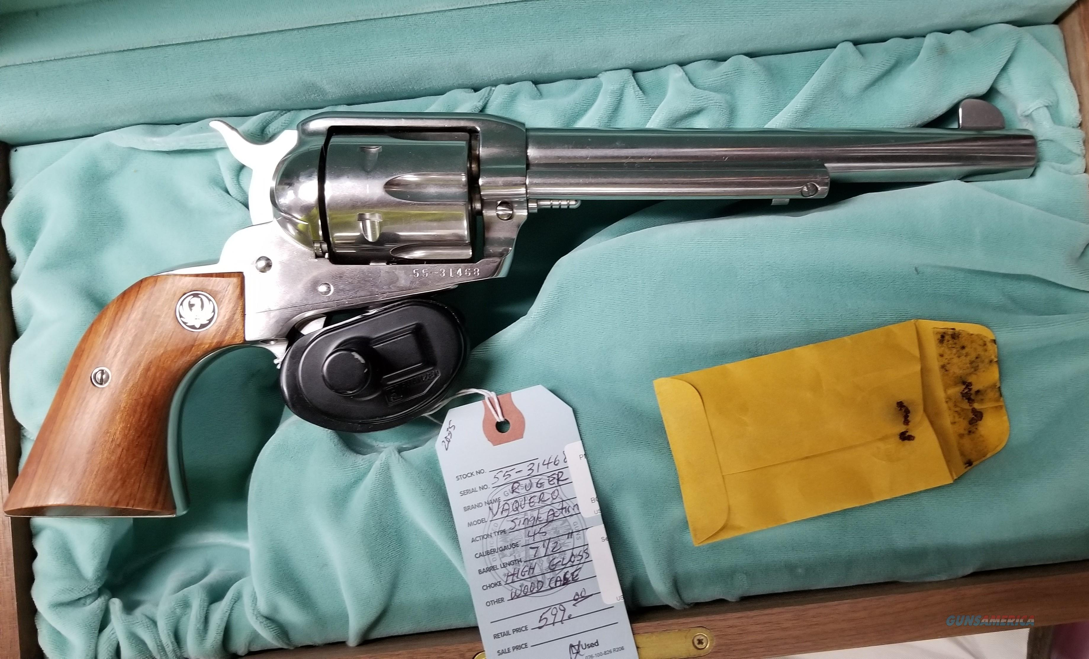 Beautiful Ruger Vaquero  Guns > Pistols > Ruger Single Action Revolvers > Single Six Type