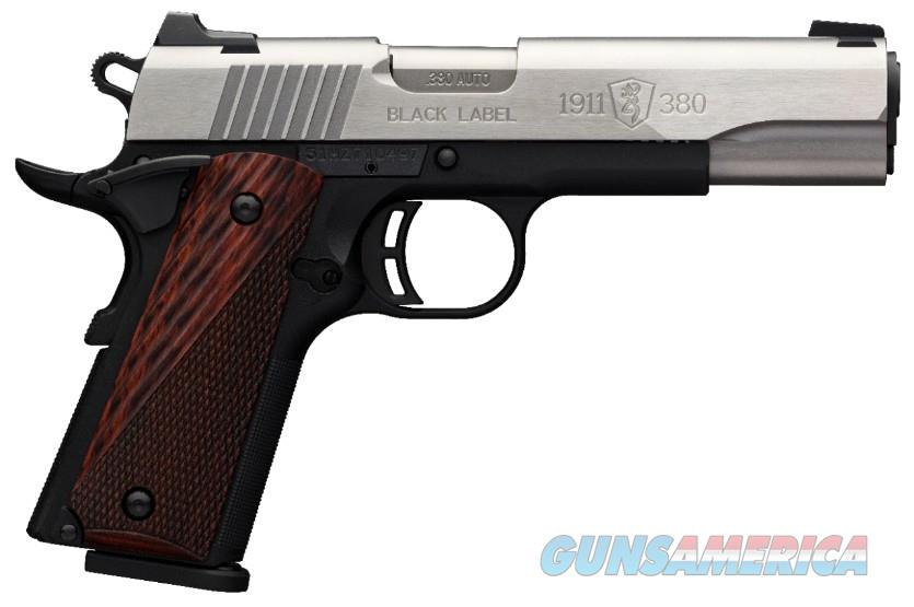 Browning 1911-380 Black Label Medallion .380acp Full Size  Guns > Pistols > Browning Pistols > Other Autos