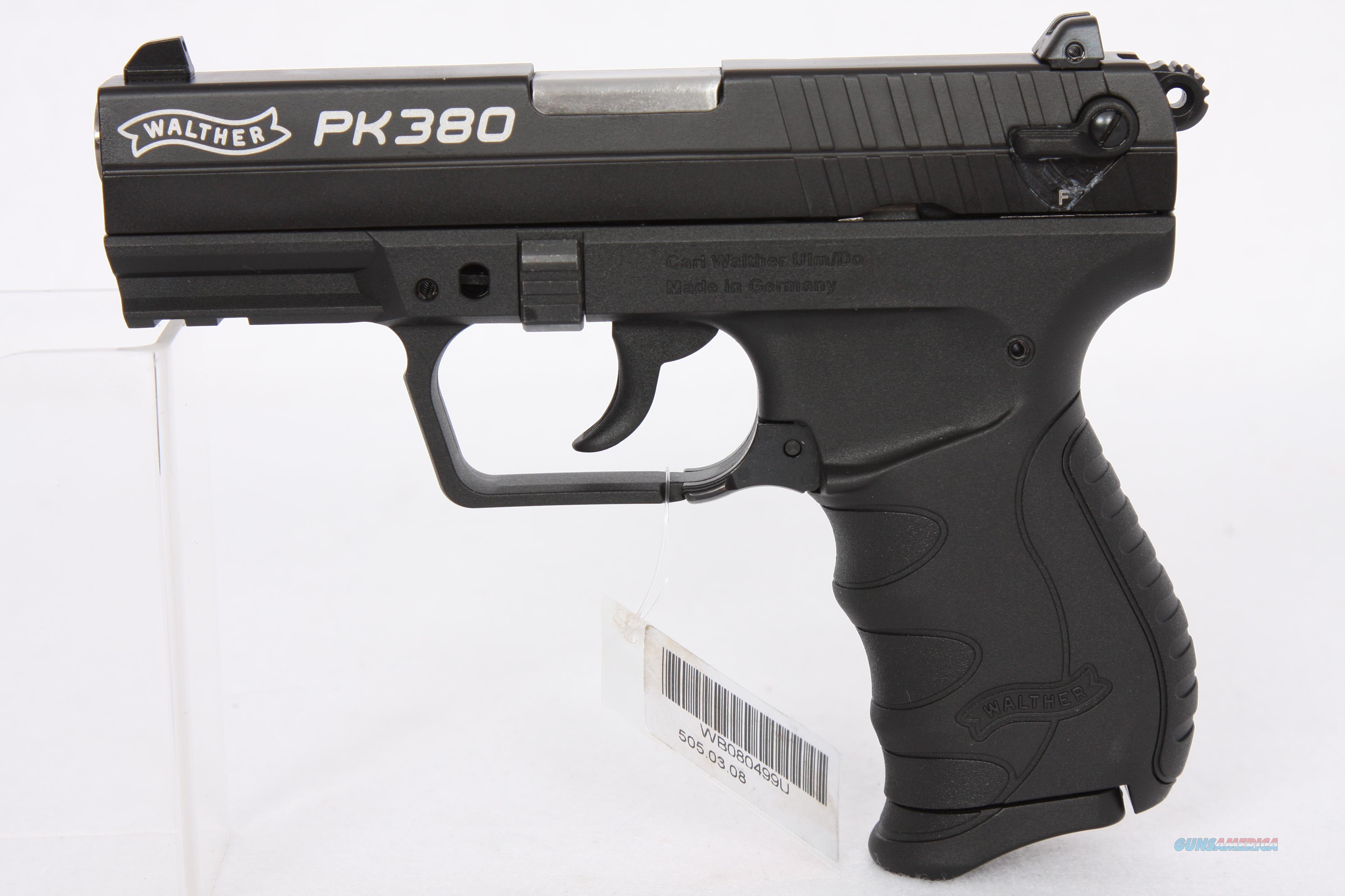 Walther PK380 380acp 3.6in Blk  Guns > Pistols > Walther Pistols > Post WWII > PK380