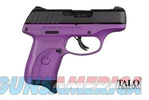 Ruger EC9s 9mm 3.12in Black Purple  Guns > Pistols > Ruger Semi-Auto Pistols > EC9