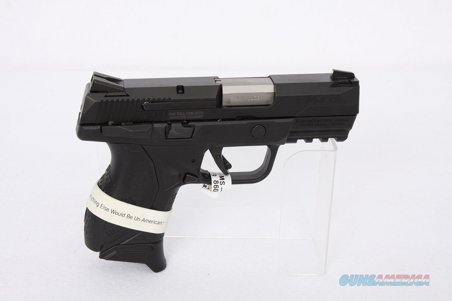 Ruger American Compact 9mm 3.55in Ambidextrous Safety  Guns > Pistols > Ruger Semi-Auto Pistols > LC9