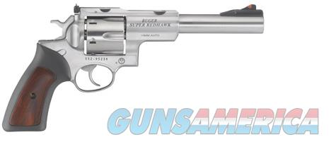 Ruger Super Redhawk 10mm 6.5in Stainless  Guns > Pistols > Ruger Double Action Revolver > Redhawk Type