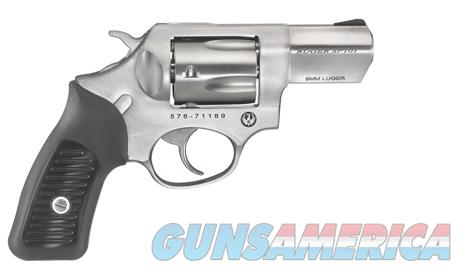 Ruger SP101 9mm 2.25in Black  Guns > Pistols > Ruger Double Action Revolver > SP101 Type