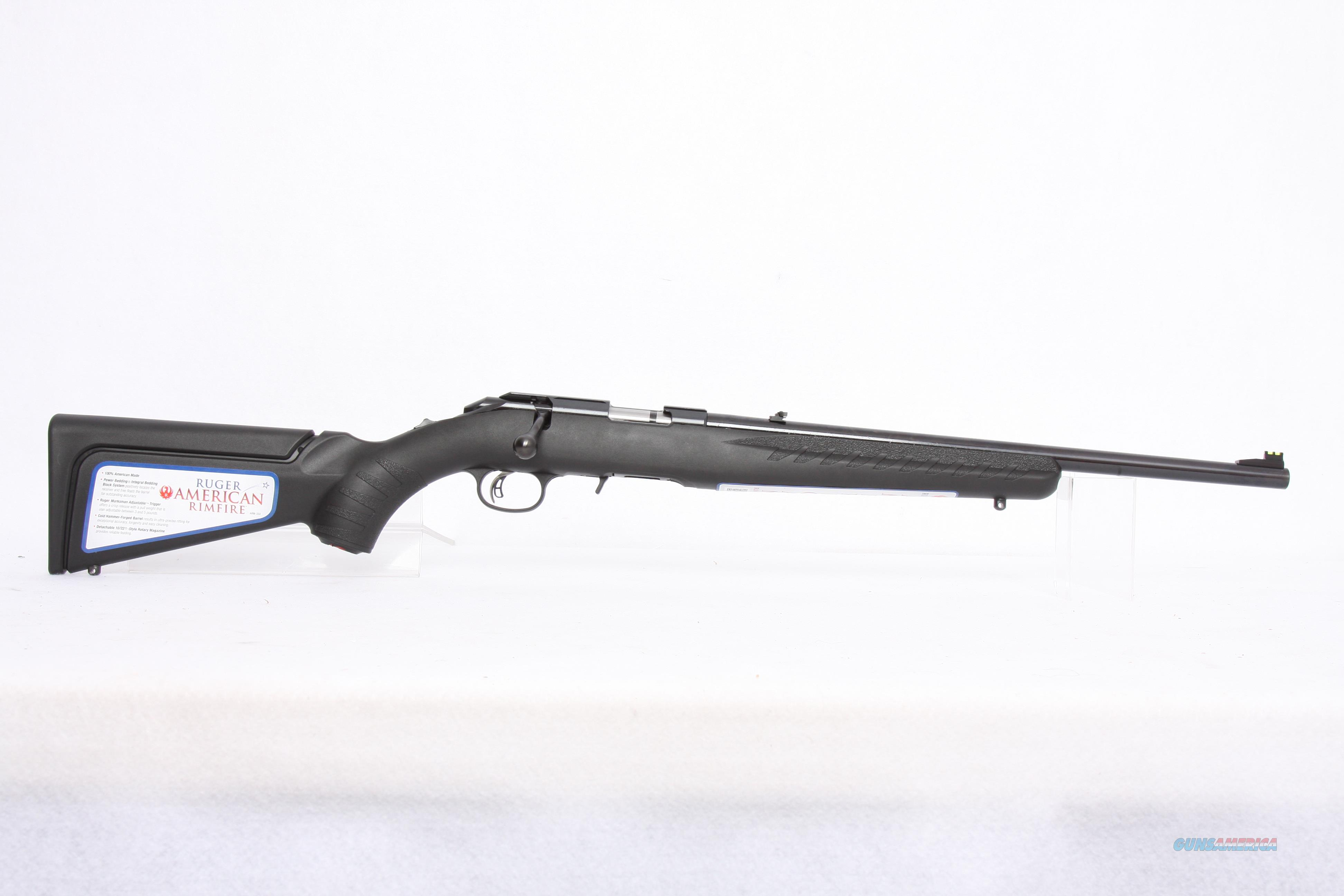 Ruger American .22Lr Compact  Guns > Rifles > Ruger Rifles > American