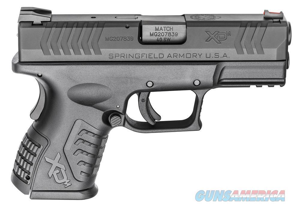 "Springfield XDM Compact 9mm 3.8"" 19rd  Guns > Pistols > Springfield Armory Pistols > XD-M"