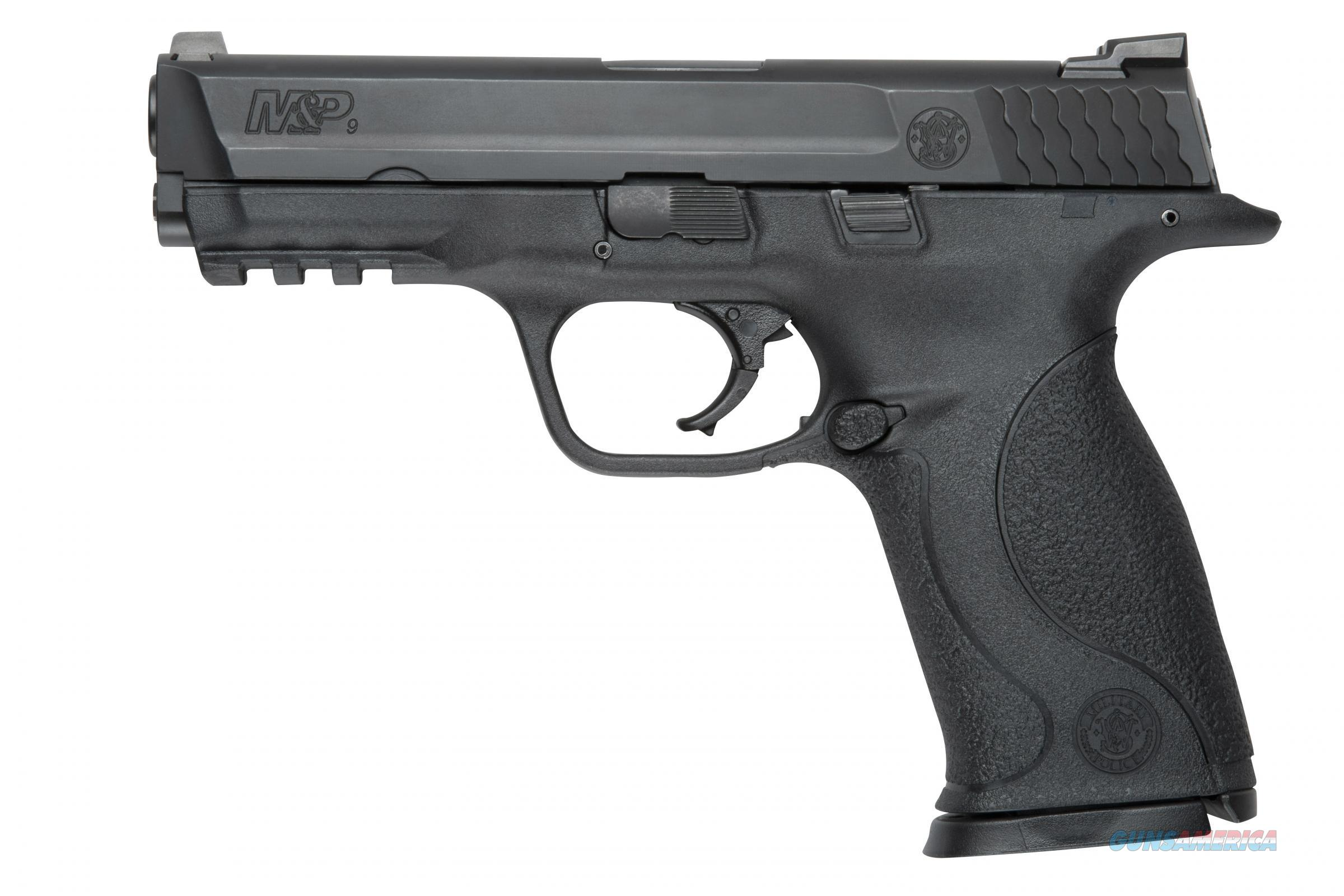 S&W M&P 9mm 4.5in Black  Guns > Pistols > Smith & Wesson Pistols - Autos > Polymer Frame