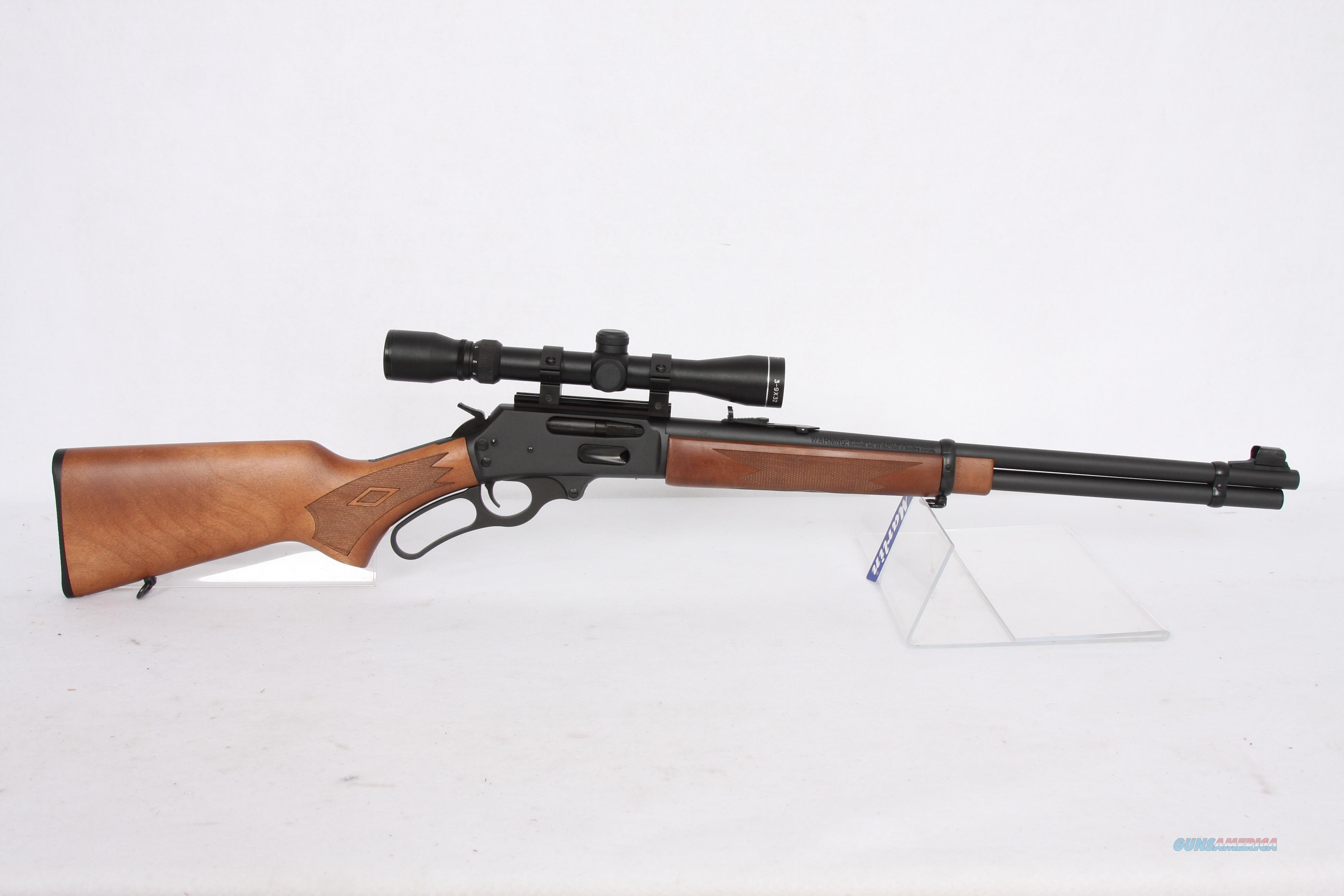 Marlin 336W .30-30 With Scope  Guns > Rifles > Marlin Rifles > Modern > Lever Action
