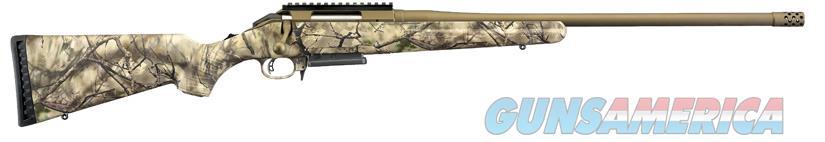 Ruger American 6.5 Creedmoor Go Wild Camo 22in Threaded Barrel  Guns > Rifles > Ruger Rifles > American Rifle