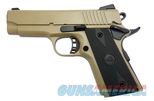 Rock Island M1911 CS 9mm FDE 3.5in  Guns > Pistols > Rock Island Armory Pistols > Rock Island