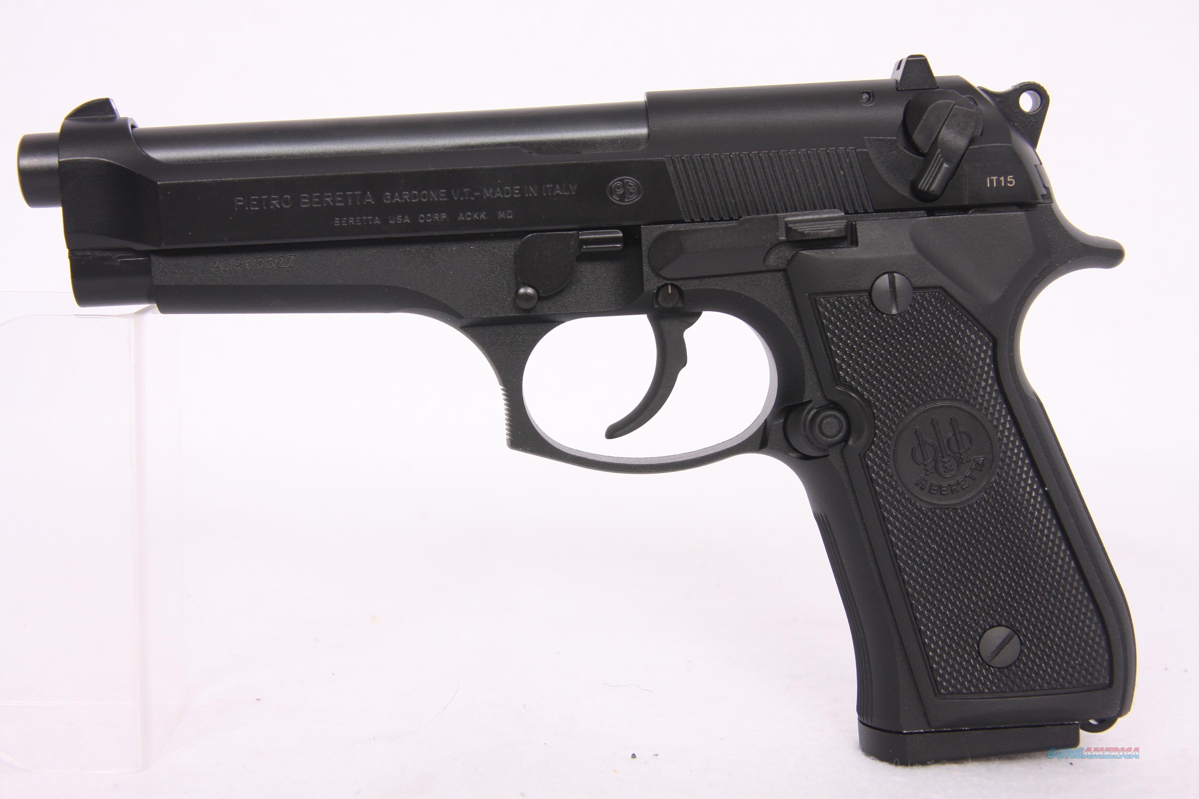 Beretta 92 9mm Blued  Guns > Pistols > Beretta Pistols > Model 92 Series