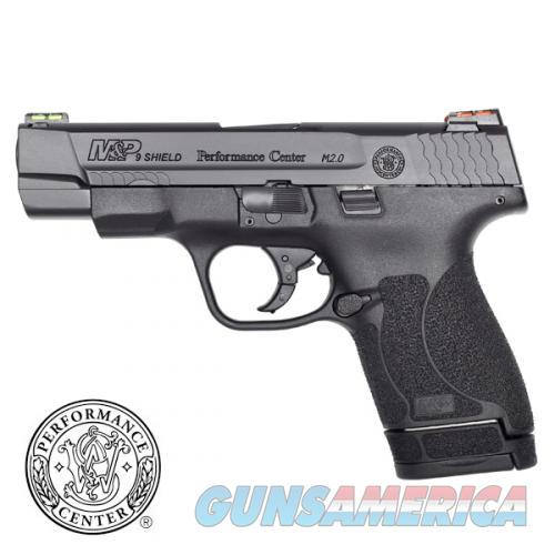 SW MP Shield M2.0 9mm Performance Center 4in Black  Guns > Pistols > Smith & Wesson Pistols - Autos > Polymer Frame