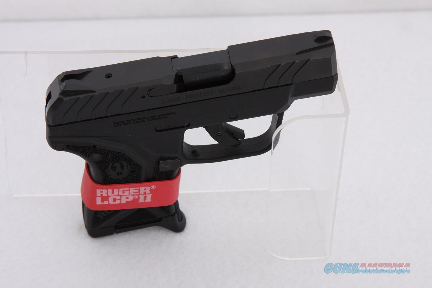 Ruger LCP II .380acp 2.75in Black  Guns > Pistols > Ruger Semi-Auto Pistols > LCP