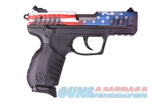 Ruger SR22 .22Lr 3.5in Cerakote American Flag  Guns > Pistols > Ruger Semi-Auto Pistols > SR Family > SR22