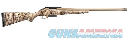 Ruger American .243win Go Wild Camo 22in Threaded Barrel  Guns > Rifles > Ruger Rifles > American Rifle