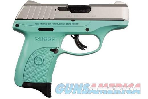 Ruger EC9s 9mm 3.12in SS Turqoise  Guns > Pistols > Ruger Semi-Auto Pistols > EC9