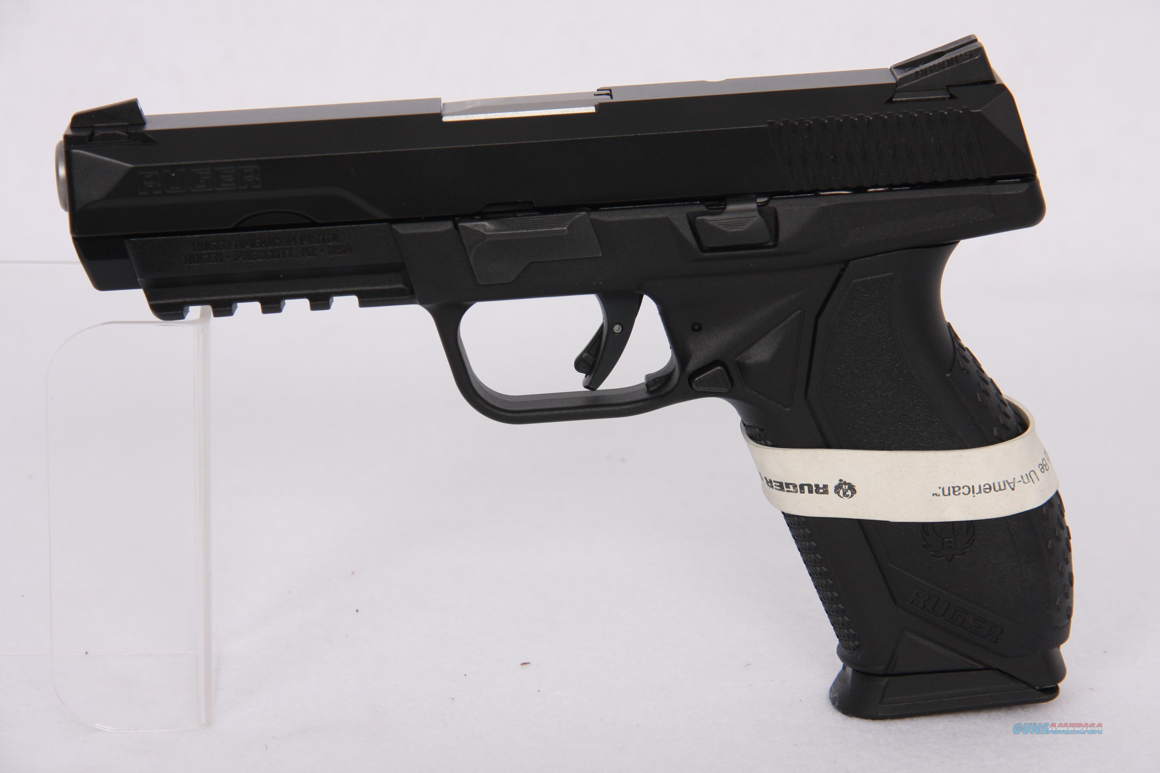 Ruger American .45 ACP 4.5in Black  Guns > Pistols > Ruger Semi-Auto Pistols > 1911