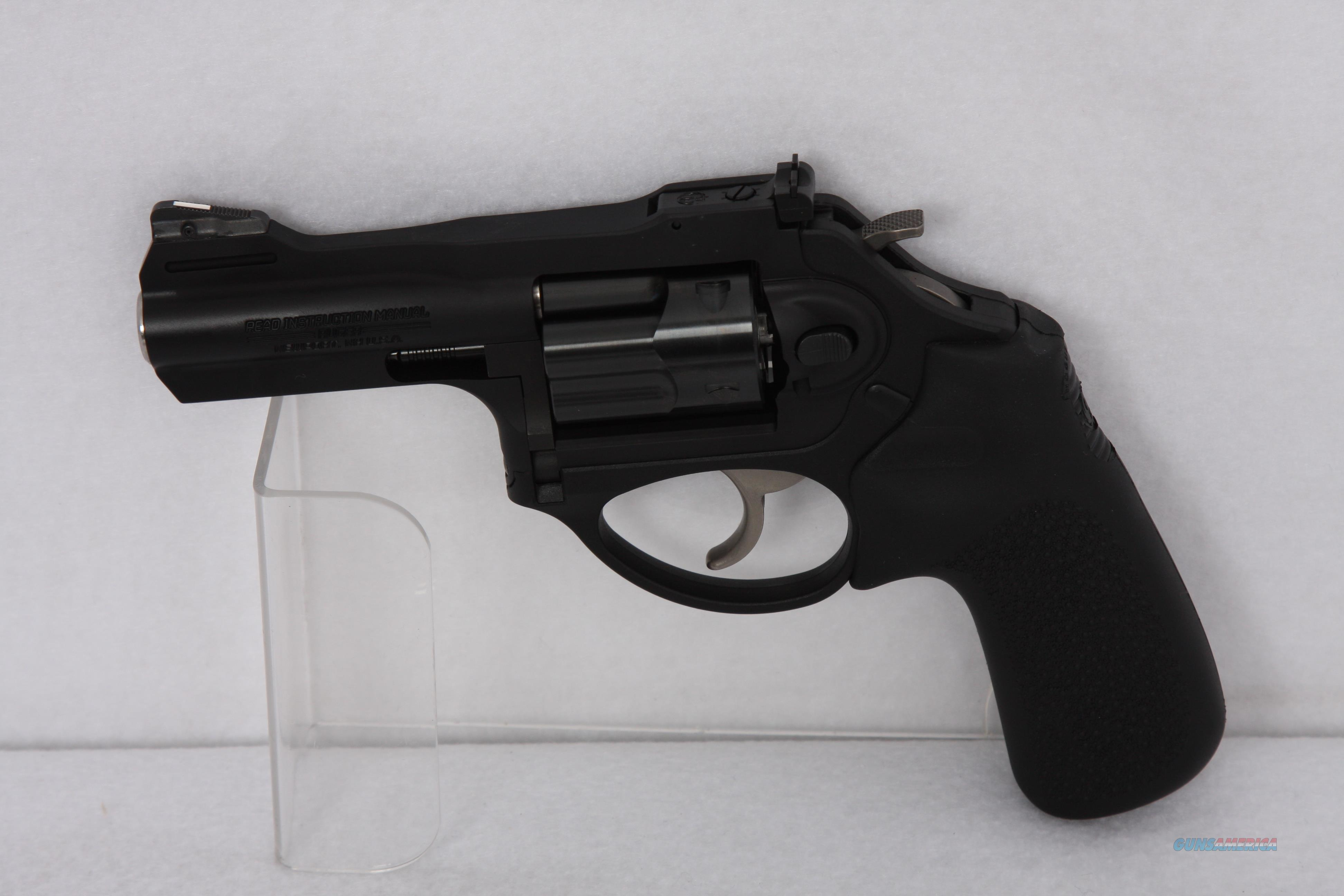 Ruger LCRX .38spcl 3in Black  Guns > Pistols > Ruger Double Action Revolver > LCR