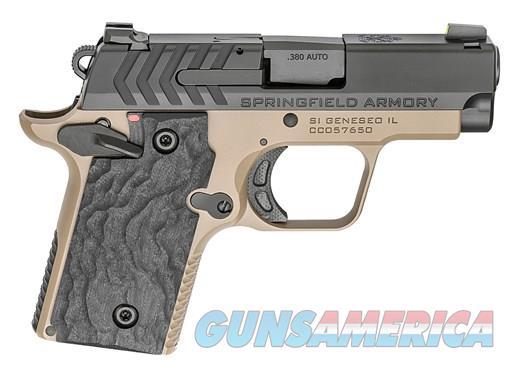 Springfield 911 .380acp 2.7in Tritium Sights FDE  Guns > Pistols > Springfield Armory Pistols > 911