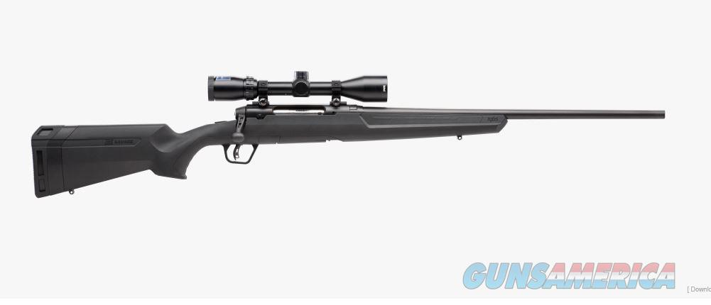 Savage Axis II XP 6.5CM Package Black  Guns > Rifles > Savage Rifles > Axis