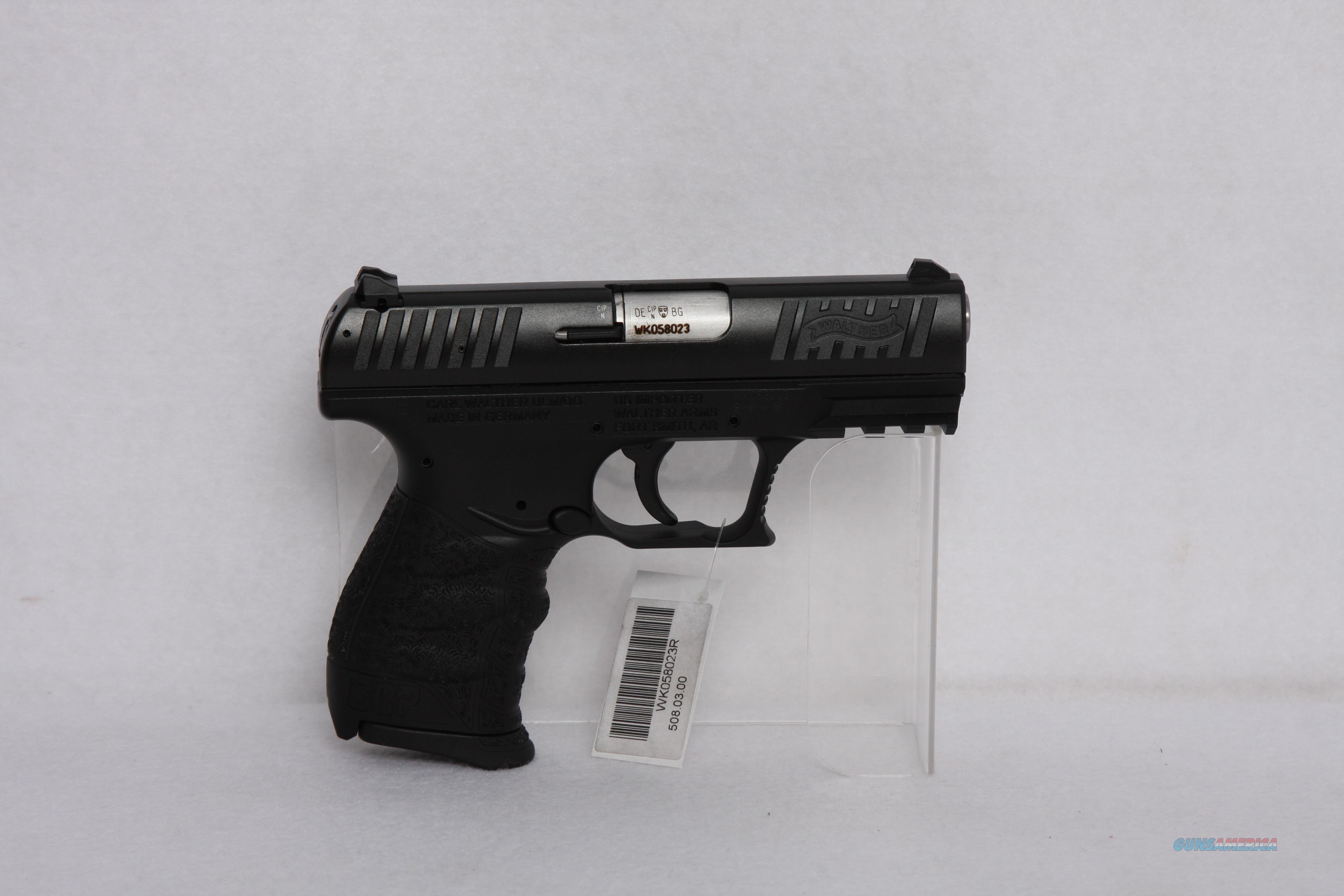 Walther CCP 9mm 3.4in 8rd Black   Guns > Pistols > Walther Pistols > Post WWII > CCP