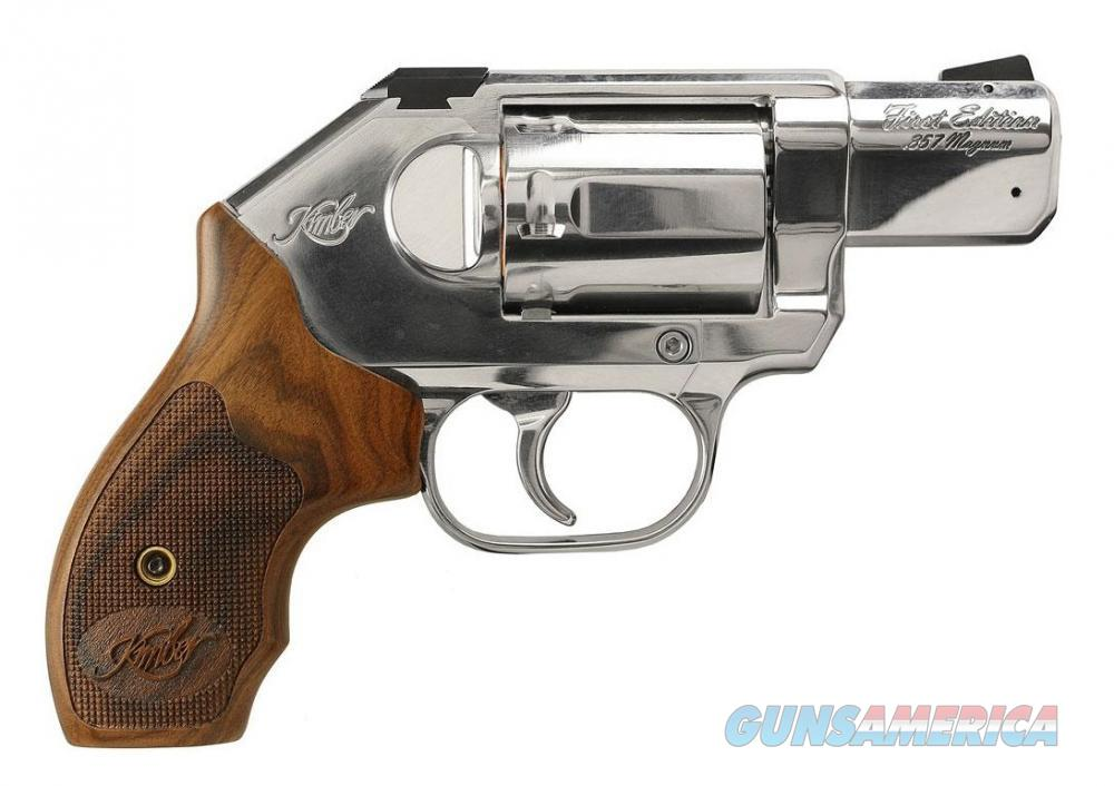 Kimber K6S First Edition .357mag Stainless  Guns > Pistols > Kimber of America Pistols > Revolvers