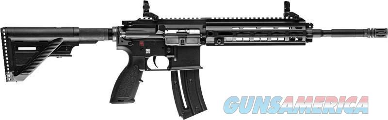 HK HK416 .22Lr Black 16.1in  Guns > Rifles > Heckler & Koch Rifles > Sporting/Hunting