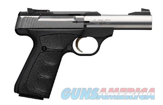 Browning Buck Mark Micro Bull Stainless .22Lr 4in  Guns > Pistols > Browning Pistols > Buckmark
