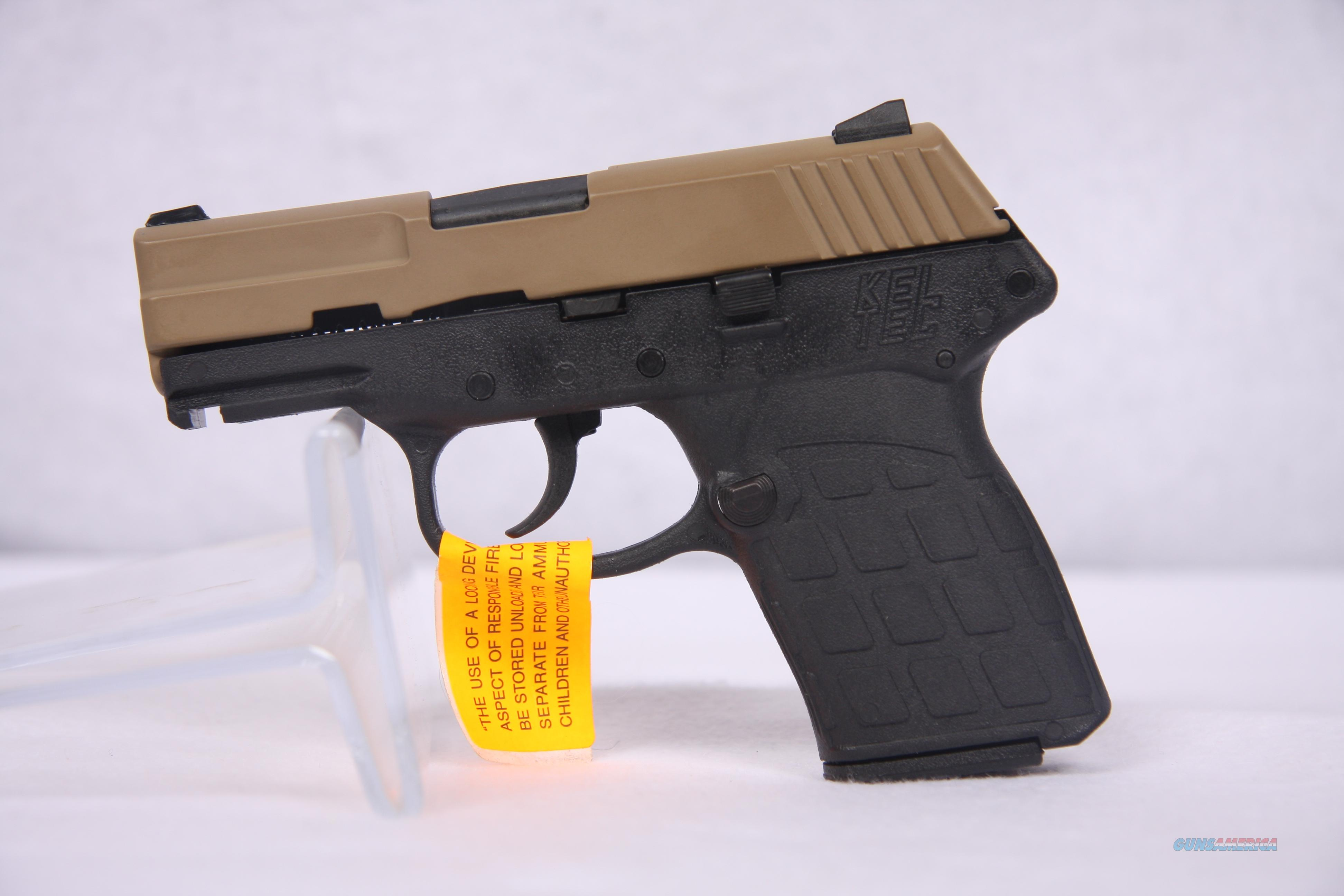 KelTec PF9 9mm Tan Black  Guns