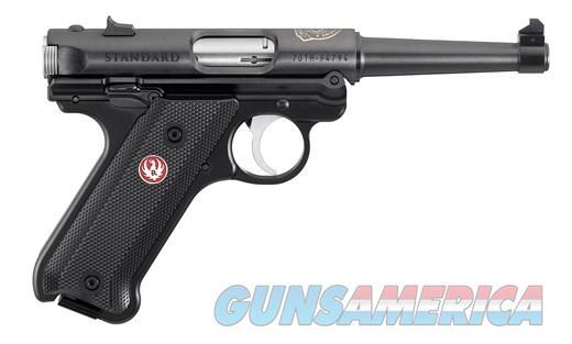 Ruger Mark IV Standard  70th Anniversary 22LR 4.75in. 10rds.  Guns > Pistols > Ruger Semi-Auto Pistols > Mark I/II/III/IV Family