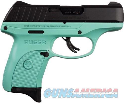 Ruger EC9s 9mm 3.12in  Black Turquoise  Guns > Pistols > Ruger Semi-Auto Pistols > EC9