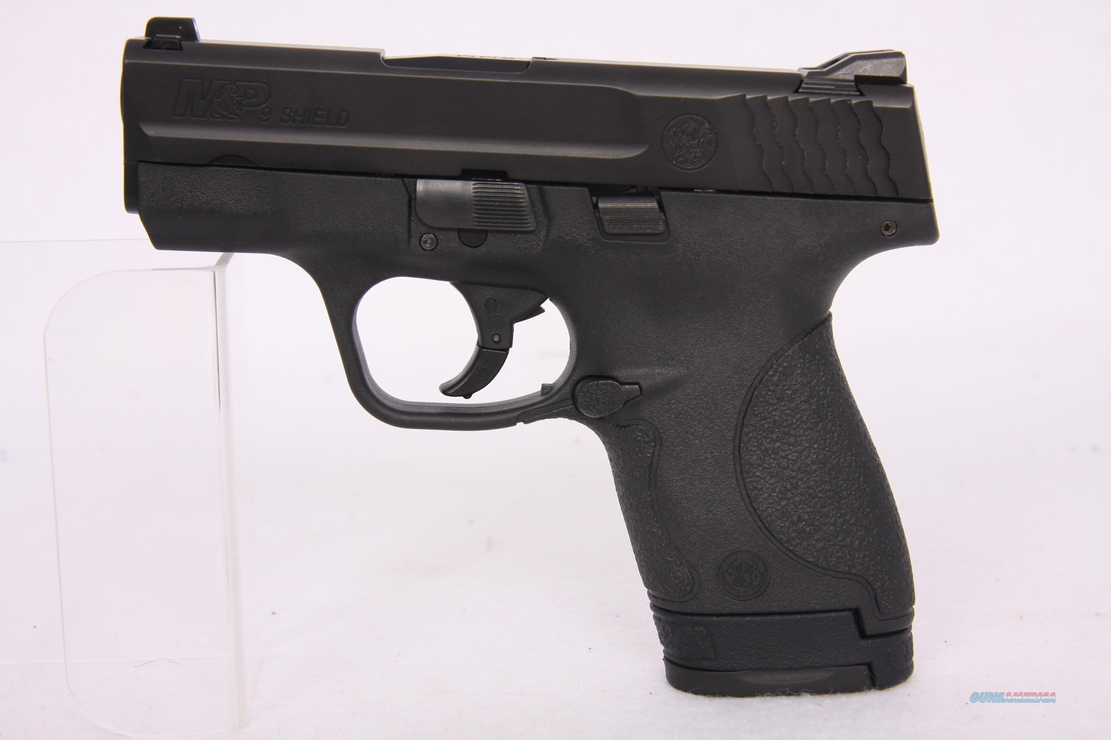 Smith & Wesson Shield 9mm 3.1 In MCR *No Thumb Safety*  Guns > Pistols > Smith & Wesson Pistols - Autos > Shield