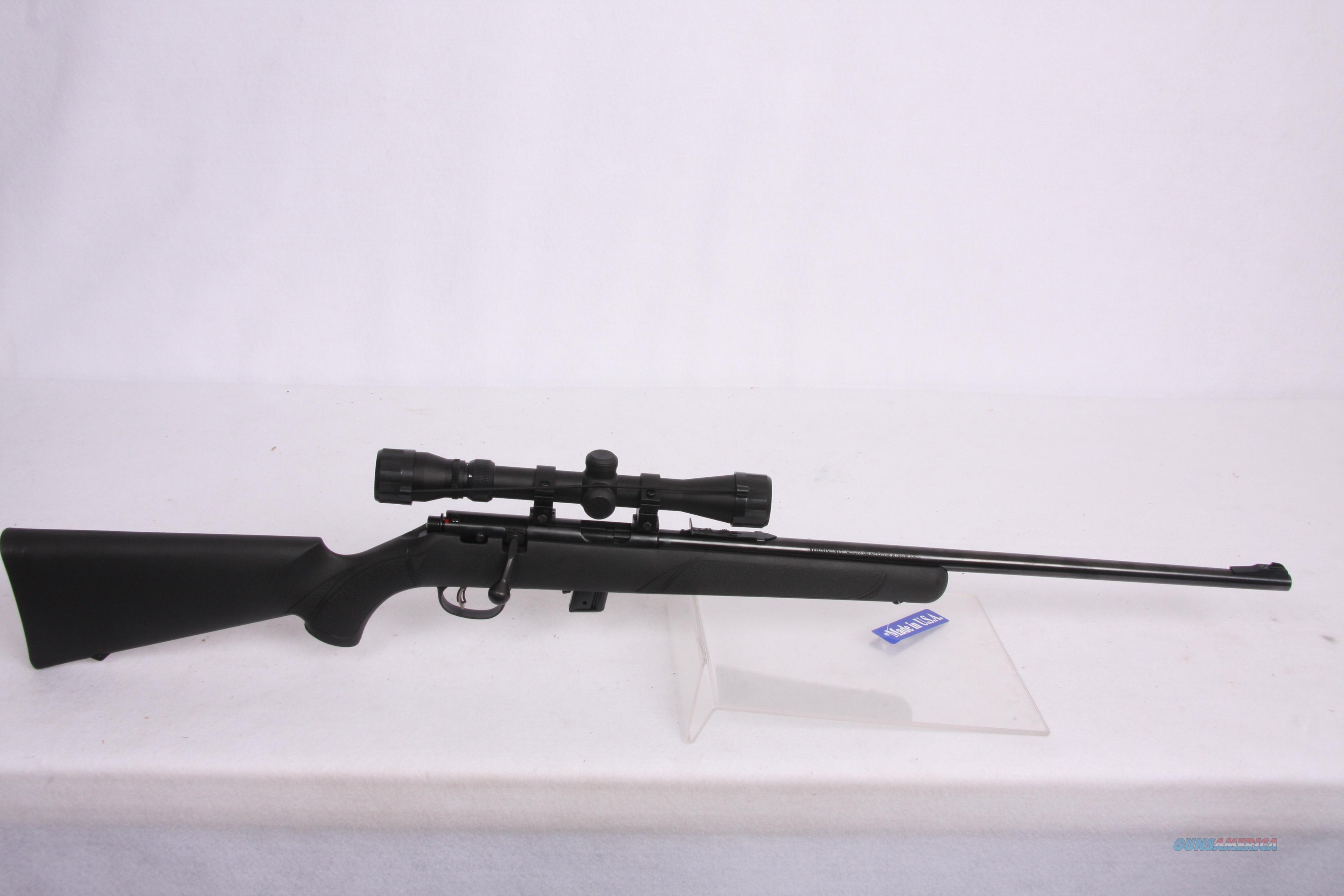 Marlin XT-22RO .22LR Blk Syn Pkg  Guns > Rifles > Marlin Rifles > Modern > Bolt/Pump