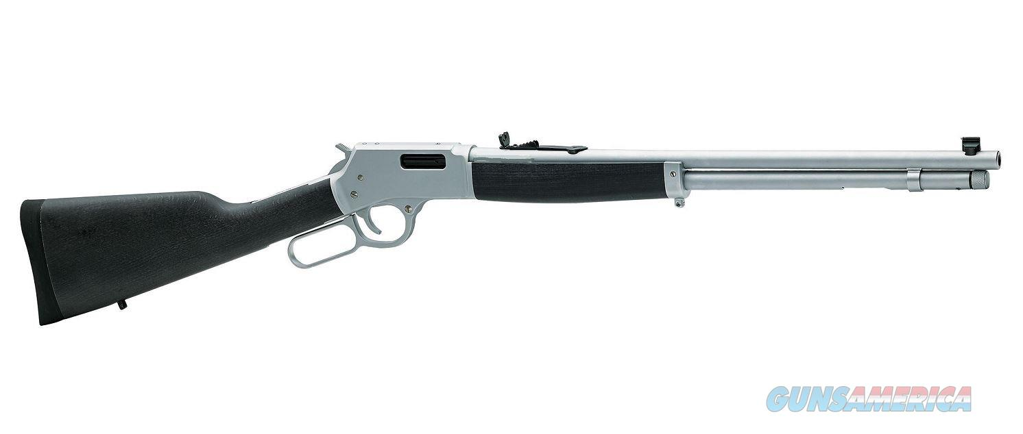 Henry Big Boy Steel .44mag All Weather 20in  Guns > Rifles > Henry Rifle Company