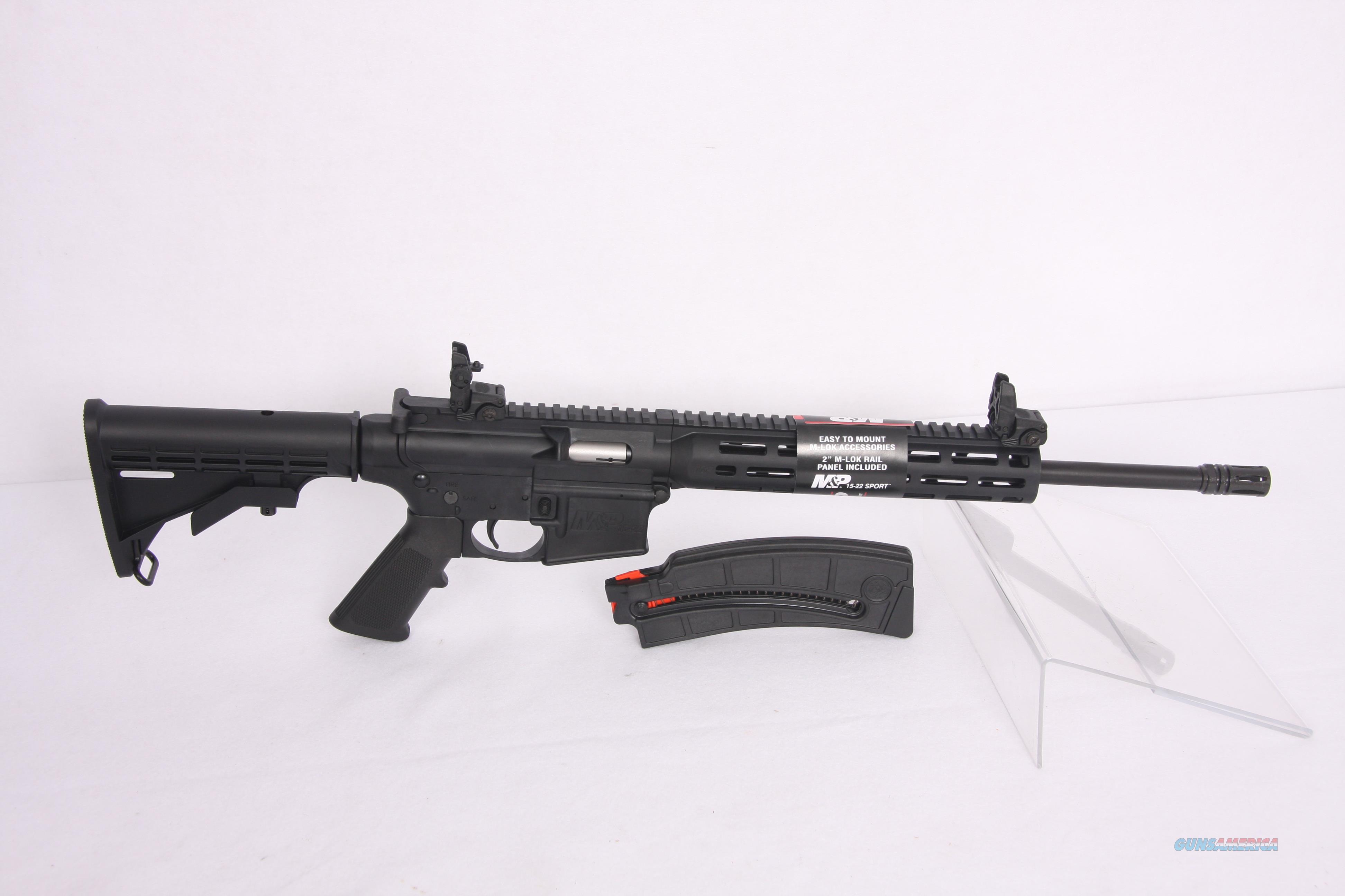 SW MP 15-22 Sport .22Lr  Guns > Rifles > Smith & Wesson Rifles > M&P