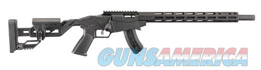 Ruger Precision .17HMR 18in Black 15rd  Guns > Rifles > Ruger Rifles > Precision Rifle Series