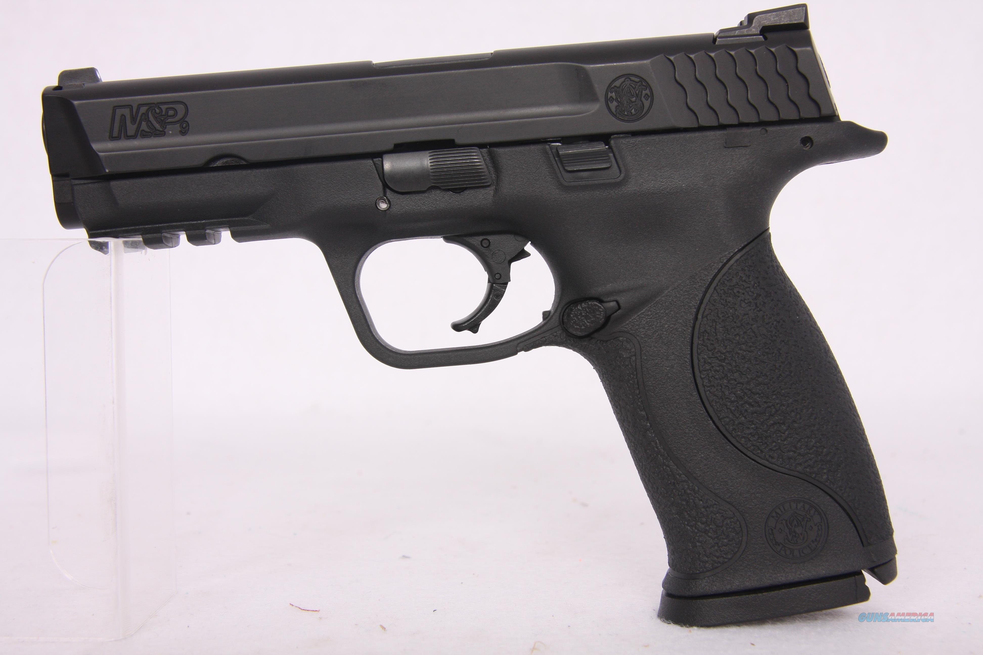 Smith & Wesson M&P9 9mm 4.5in Black  Guns > Pistols > Smith & Wesson Pistols - Autos > Polymer Frame