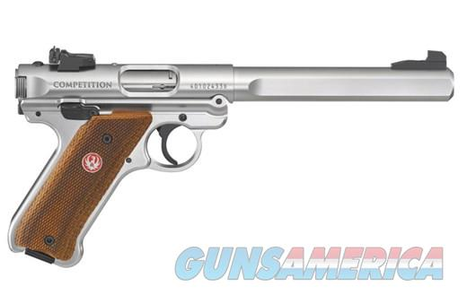 Ruger Mark IV Competition .22Lr 6.88in Stainless  Guns > Pistols > Ruger Semi-Auto Pistols > Mark I/II/III/IV Family