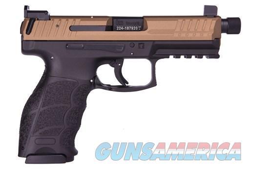 HK VP9 Tactical 9mm 7.34in Burnt Bronze Cerakote  Guns > Pistols > Heckler & Koch Pistols > Polymer Frame