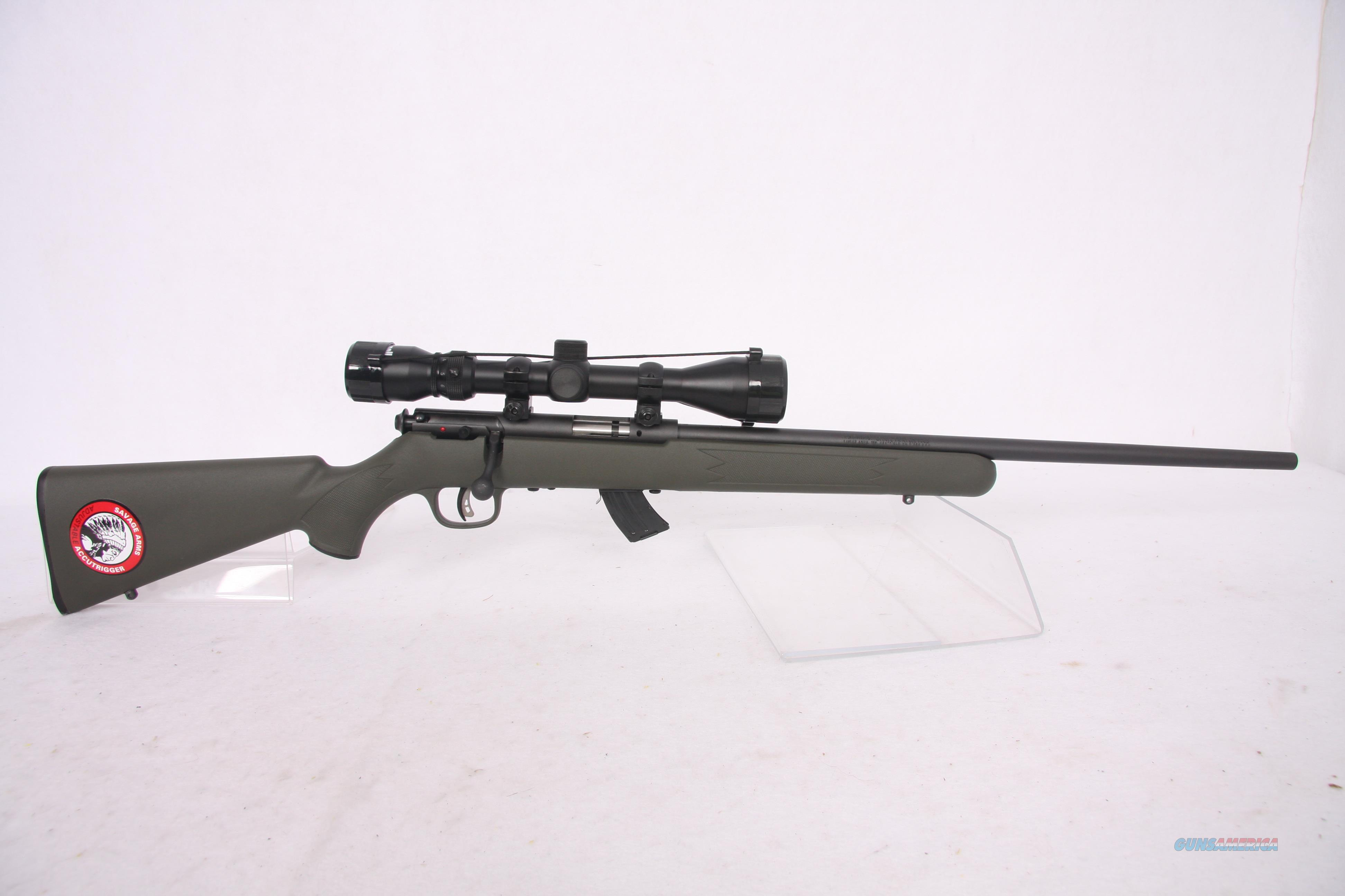 Savage Mark II FXP .22Lr Package  Guns > Rifles > Savage Rifles > Accutrigger Models > Sporting