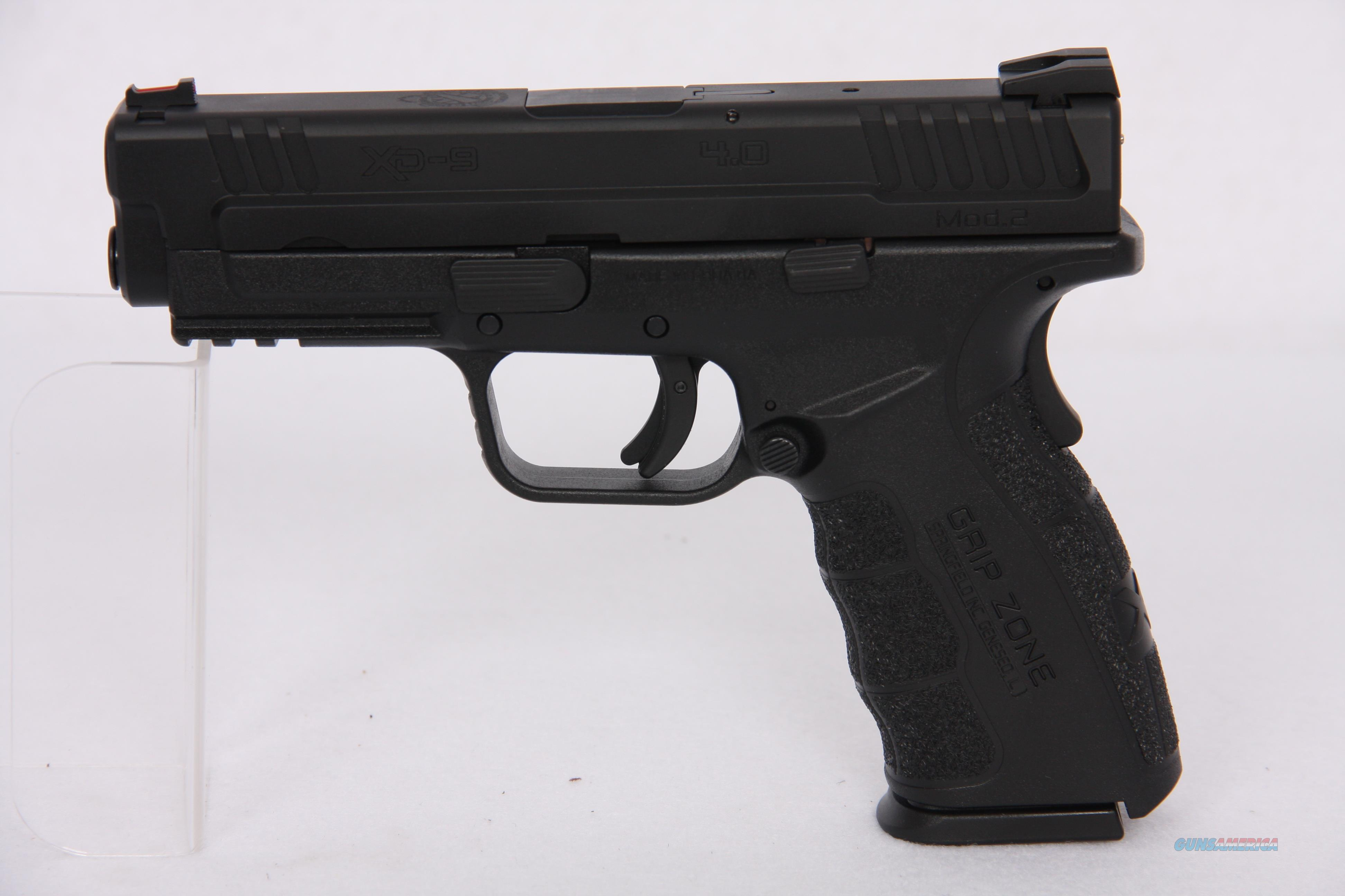 Springfield XD 9mm 4in Black Mod. 2 16rd  Guns > Pistols > Springfield Armory Pistols > XD (eXtreme Duty)