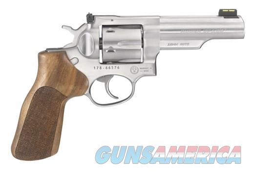 Ruger GP100 Match Champ 10mm Stainless  Guns > Pistols > Ruger Double Action Revolver > GP100