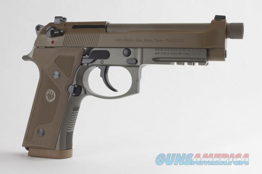 Beretta M9A3 9mm FDE 17rd   Guns > Pistols > Beretta Pistols > M9