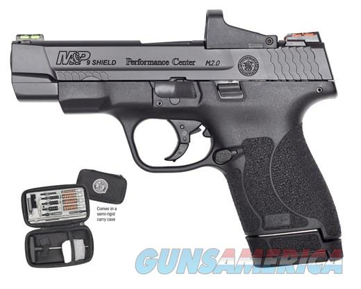 Smith & Wesson Performance Center Shield 9mm 4in 7/8rds Black  Guns > Pistols > Smith & Wesson Pistols - Autos > Polymer Frame