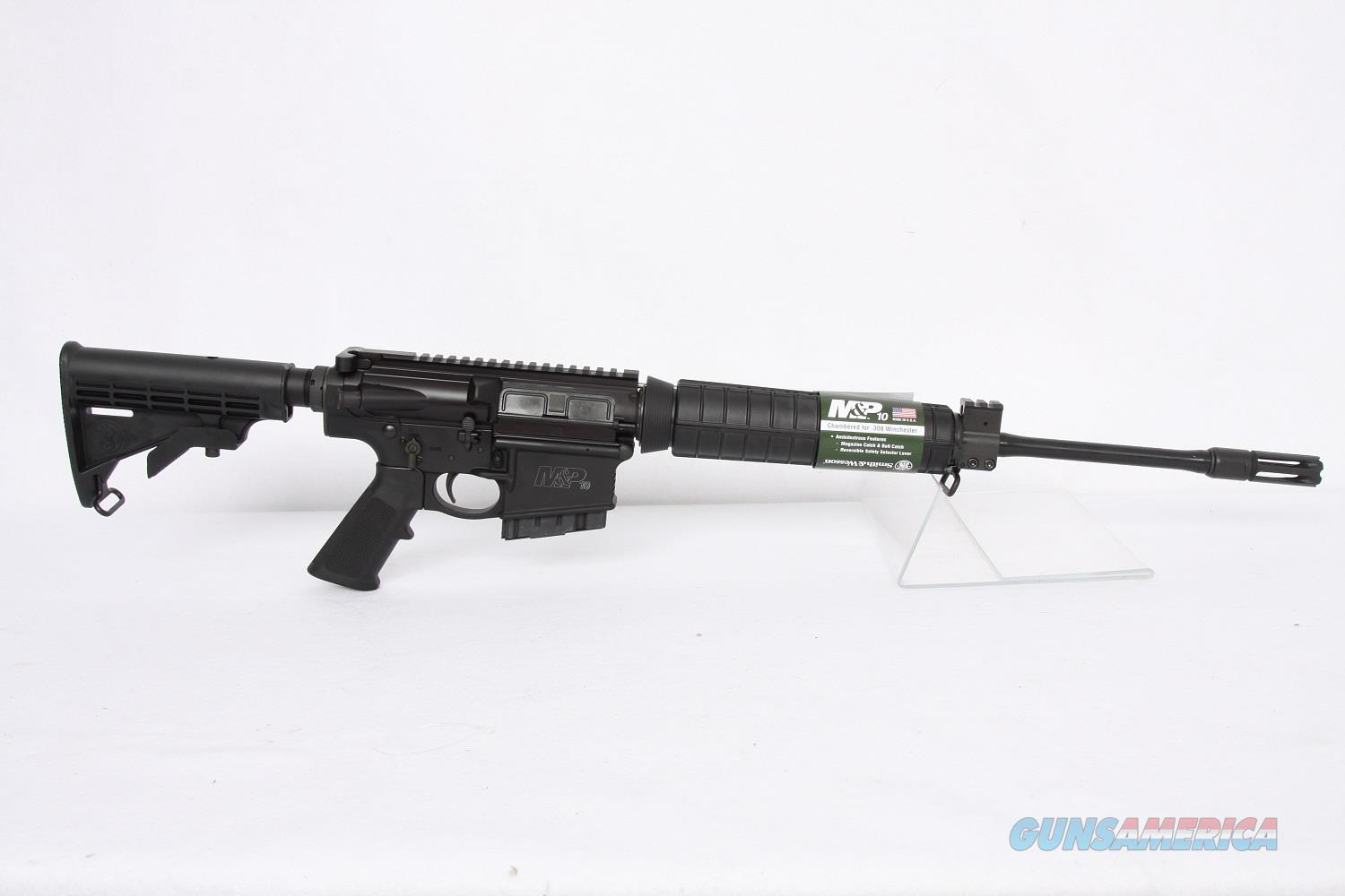 SW MP10 .308win 18in Black  Guns > Rifles > Smith & Wesson Rifles > M&P
